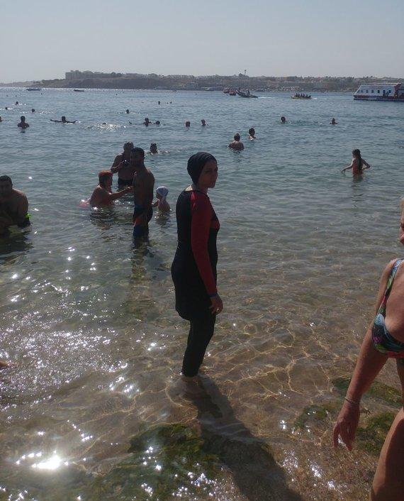 Rasos Sagės nuotr./Atostogos Egipte