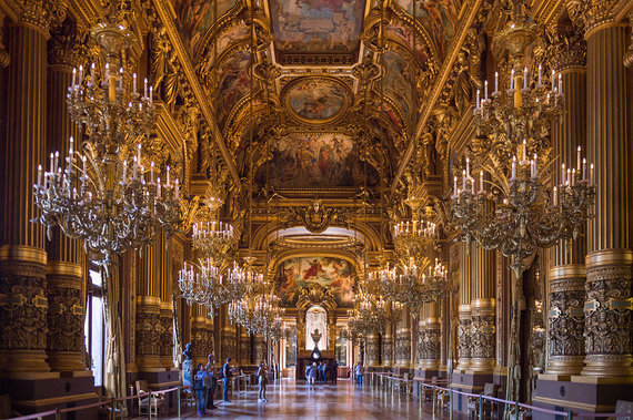 Shutterstock.com nuotr./Nacionalinė Paryžiaus opera, Prancūzija