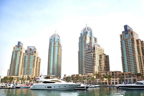 Skrendu.lt nuotr./Dubajaus panorama