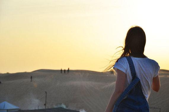 Skrendu.lt nuotr./S.Valiaugaitė dykumoje