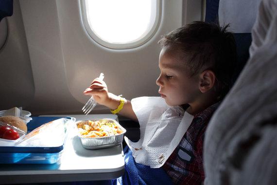 123rf.com nuotr./Maistas Lėktuve