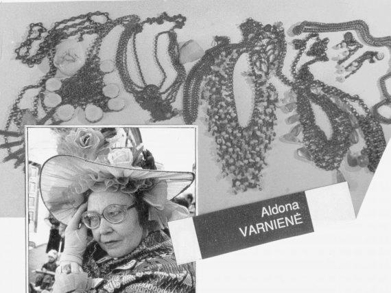 Skemų krašte gimusi ir užaugusi Aldona Laguckaitė-Varnienė