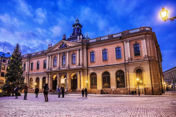 Shutterstock.com nuotr./Nobelio muziejus, Stokholmas, Švedija