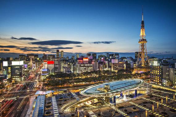 Shutterstock.com nuotr./Nagojos miestas, Japonija