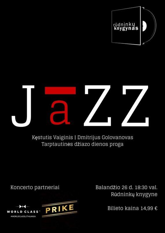 Plakatas Jazz Rudninkai