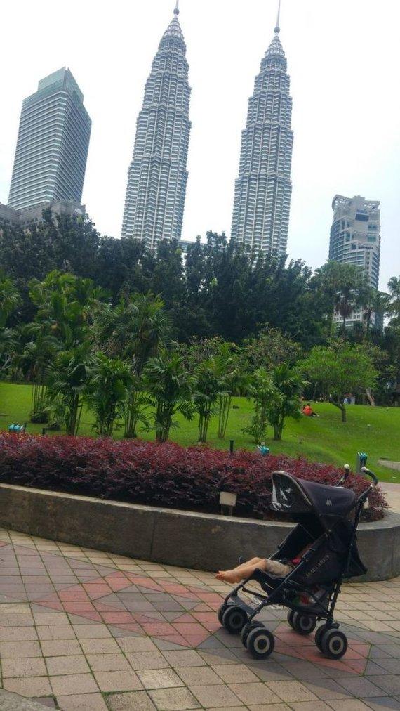Asm.archyvo nuotr./Vaikams gerai ten, kur tėvams gerai – Kuala Lumpuras, Malaizija
