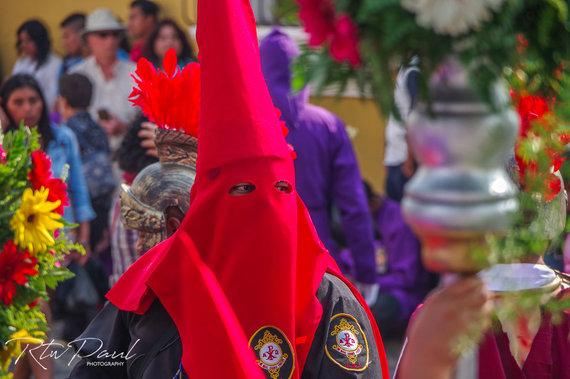 Paul Stewart nuotr./Semana santa – šventoji savaitė Gvatemaloje