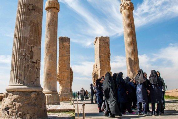Tomo Baranausko/Pasaulio piemuo nuotr./Persepolis gausiai lankomas tiek vietos turistų, tiek ir užsieniečių
