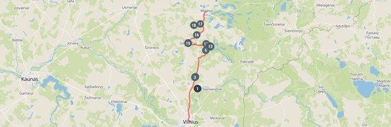 Vilnius-Molėtai. Ką pamatyti pakeliui?