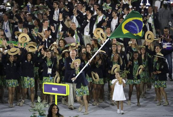 """""""Scanpix"""" nuotr./Rio žaidynių atidarymo ceremonija"""