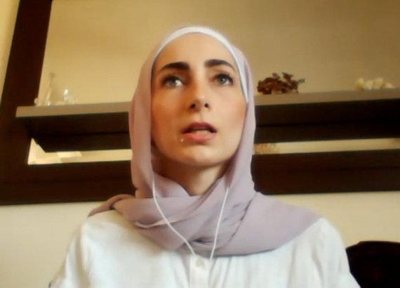L.Tubio/15min nuotr./Libanietė Nour Ghanem