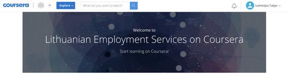 """L.Tubio/15min nuotr./""""Courseros"""" pasveikinimas prisijungus prie UŽT kuruojamos projekto"""