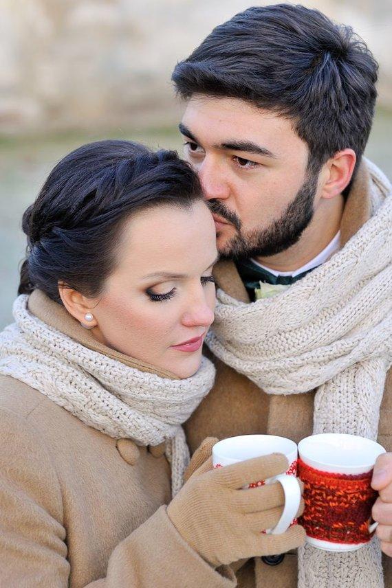 Asmeninio archyvo nuotr. /Ieva Kurashidze su vyru Zurabi