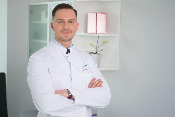 Asmeninio archyvo nuotr. /Plastinės ir rekonstrukcinės chirurgijos gydytojas Mantas Sakalauskas