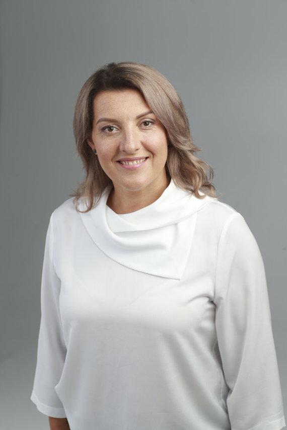 """Pranešimo autorių nuotr. /Aušra Degutytė, Asociacijos """"Gyvastis"""" prezidentė"""