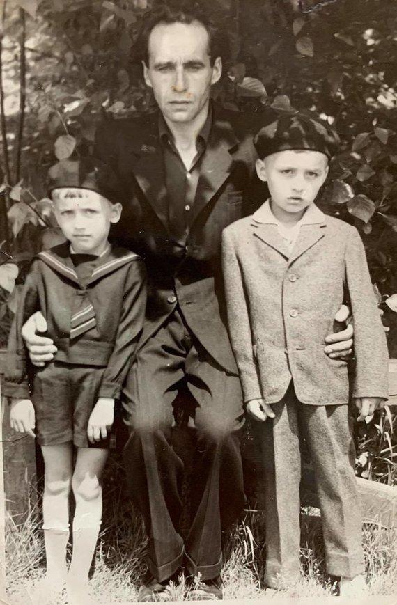 Asmeninio archyvo nuotr. /Liudas Ramanauskas vaikystėje