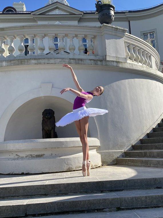 Asmeninio archyvo nuotr. /Talentingoji balerina – Eva Bugakova