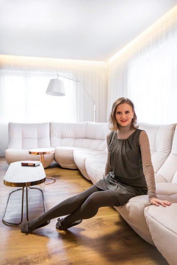 Asmeninio archyvo nuotr. /Interjero dizainerė Ona Januškevičiūtė