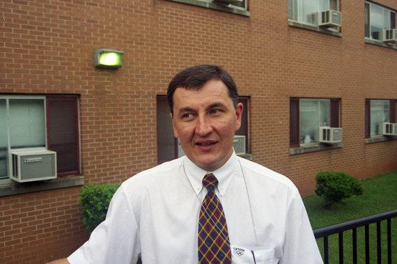 Alfredo Pliadžio nuotr./1996 metai – Jonas Kazlauskas .