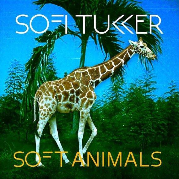 "Sofi Tukker ""Soft Animals"" albumo viršelis"