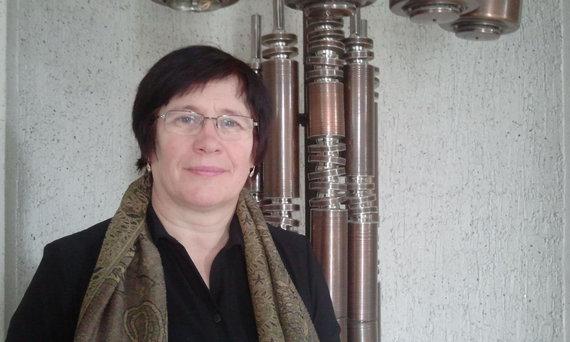 L. Sėlenienės nuotr./Juknaičių seniūno pavaduotoja Natalija Domarkienė