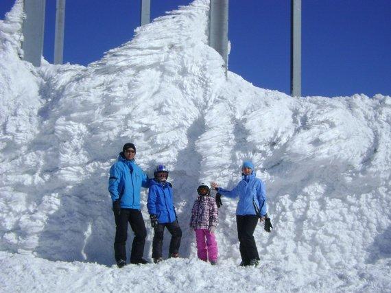 """Kelionių organizatoriaus """"GRŪDA"""" nuotr./ Keliautojai slidinėjimo kelionėje, Slovakijoje"""