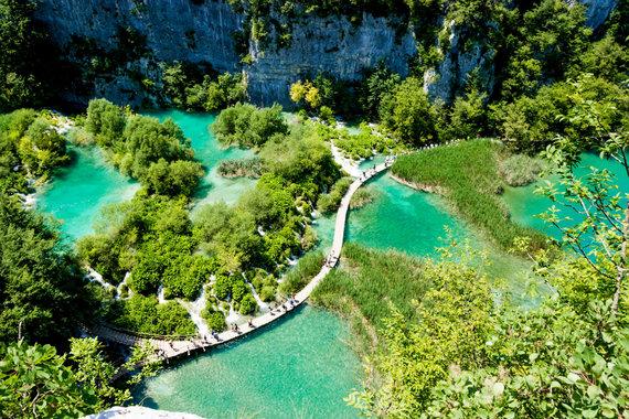 Shutterstock nuotr./Plitvicos ežerų Nacionalinis parkas, Kroatija