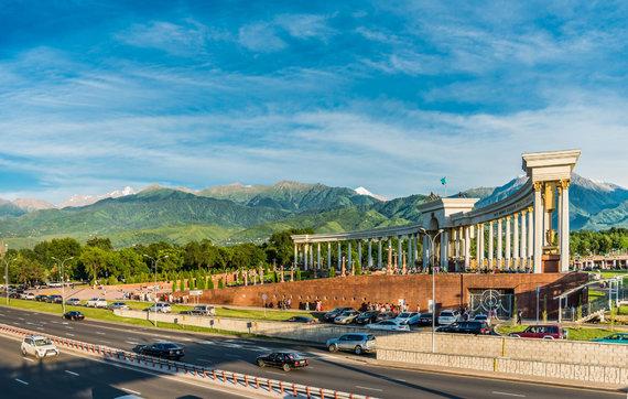Shutterstock nuotr./Almata, Kazachstanas