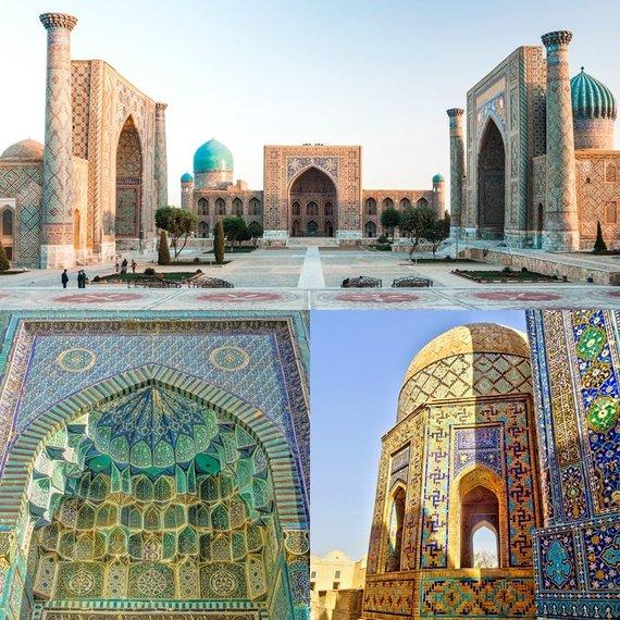 Shutterstock nuotr./Uzbekijos spalvos, Samarkandas, Uzbekija
