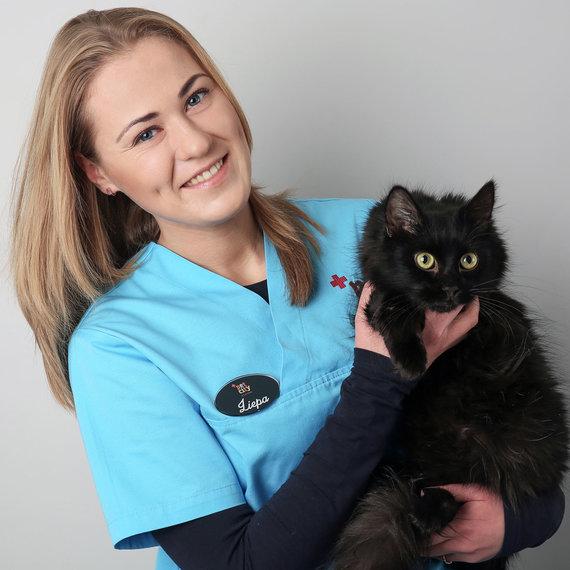"""""""PetCity"""" nuotr./""""PetCity"""" klinikos gydytoja-veterinarė Liepa Krūminytė"""