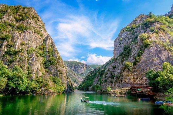 Shutterstock nuotr./Matkos kanjonas, Makedonija