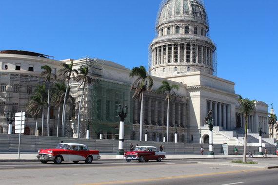 Asmeninio albumo nuotr./Atostogų Kuboje akimirka