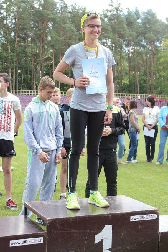 D. Bedalytė - 200 m rungties nugalėtoja