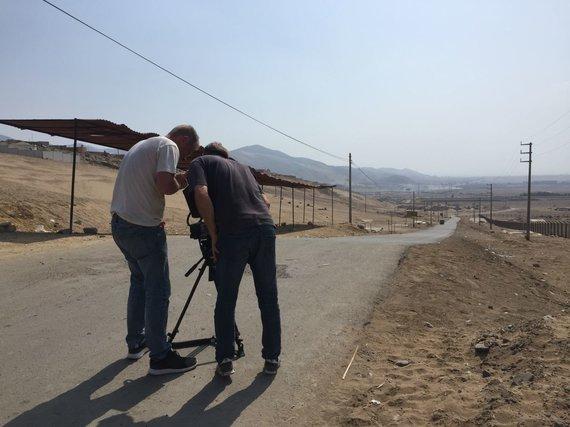 """Martyno Starkaus nuotr./Filmo """"Mulai"""" filmavimas Peru kalėjime"""