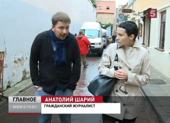 """""""5 kanalo"""" nuotr./Iš Ukrainos ir ukrainiečių karių besityčiojantis A.Šarijus turi Lietuvos politinį prieglobstį"""