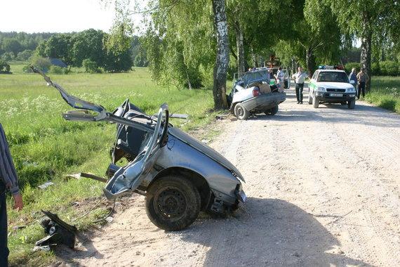 VSAT nuotr./2006 metais šalia Trakininkų kaimo žuvo dvidešimtmetis Darius Bolskis.