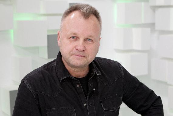 Valdo Kopūsto / 15min nuotr./Prodiuseris, muzikantas Saulius Urbonavičius-Samas
