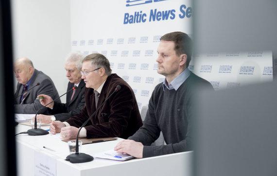 Valdo Kopūsto / 15min nuotr./Andrius Baranauskas, Juozas Pukanasis, Juozas Antanaitis, Giedrius Komka