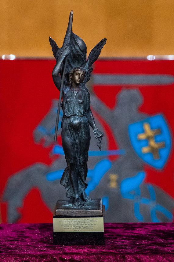Olgos Posaškovos / lrs.lt nuotr./Sausio 13-osios – Laisvės gynėjų dienos 30-mečio minėjimo ir Laisvės premijos įteikimo ceremonija