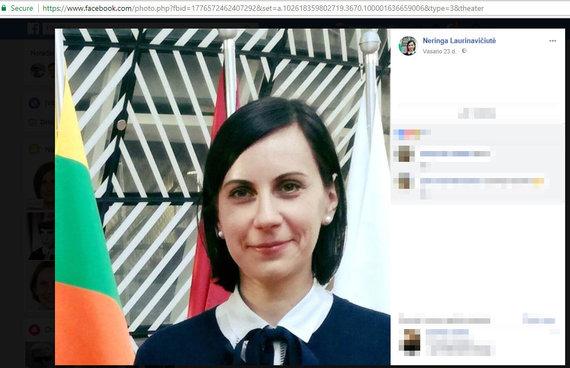 Facebook profilio vaizdas/Neringa Laurinavičiutė