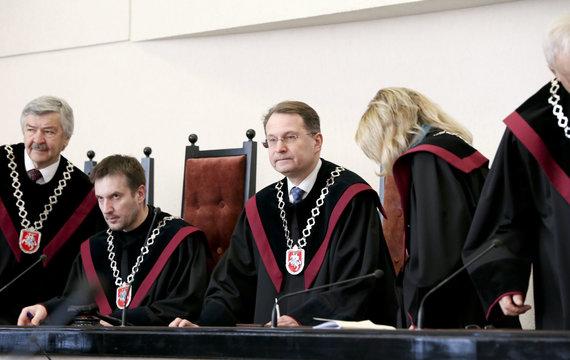 Mato Miežonio / 15min nuotr./Konstitucinis Teismas