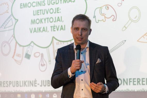 """Svajūno Stroino / 15min nuotr. / Conference """"Socialinis ir eminis ugdymas Lietuvoje: mokytojai, vaikai, tėvai"""""""