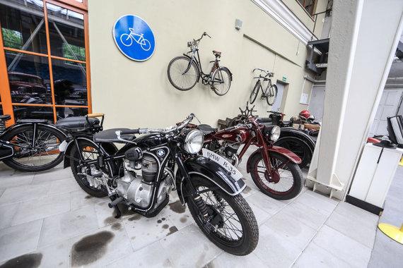 Juliaus Kalinsko/15min.lt nuotr./BMW motociklas
