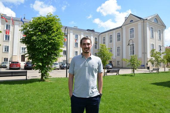Partnerio nuotr./Studentas iš Portugalijos