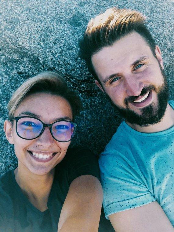 Partnerio nuotr./Viktorija ir Gia Amkoladze