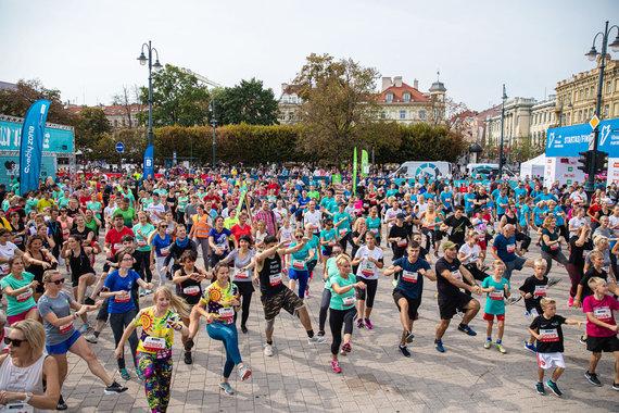 Partnerio nuotr./Vilniaus maratonas – vieta, kur įmonės demonstruoja savo kūrybiškumą