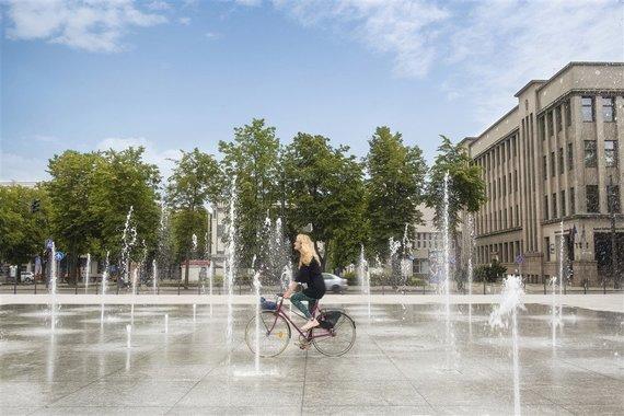 Like Bike Kaunas nuotr./Vienybės aikštė