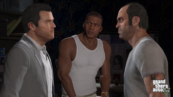 Partnerio nuotr./Grand Theft Auto V: Premium Online Edition