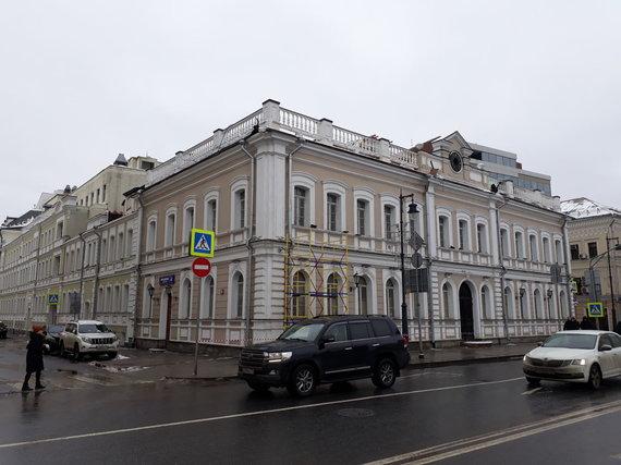 Mika Velikovsky / OCCRP nuotr./Buvusi Ūkio banko atstovybė Maskvoje
