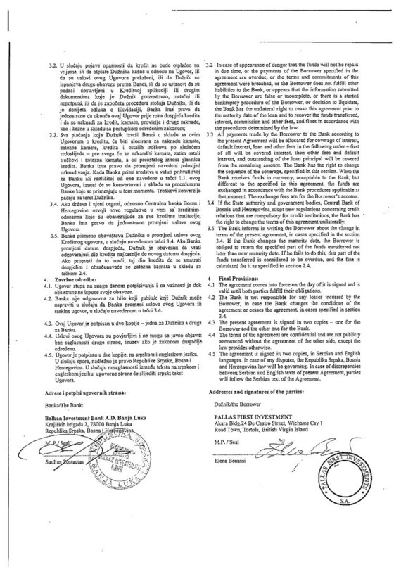 15min nuotr./2003 m. gegužės 28 d. paskolos sutartis, 2 lapas
